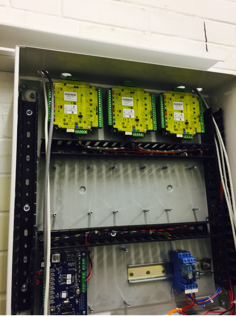 Access control network panel
