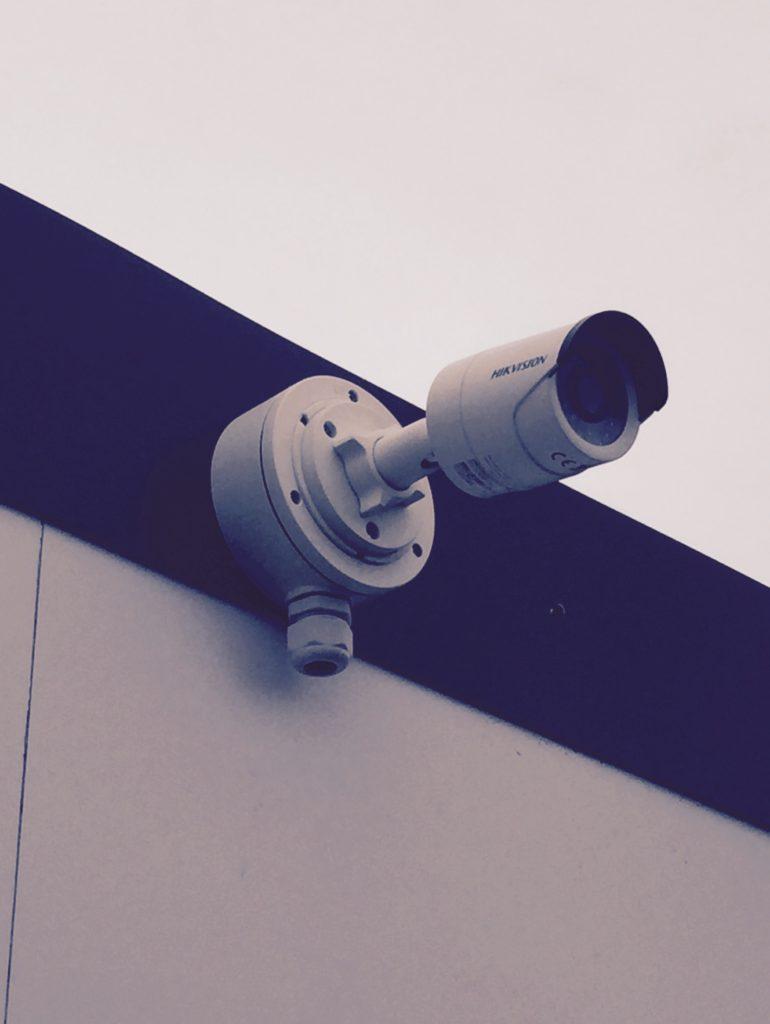 New camera installation