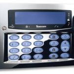 Texicom Alarm Keypad - Polished Chrome